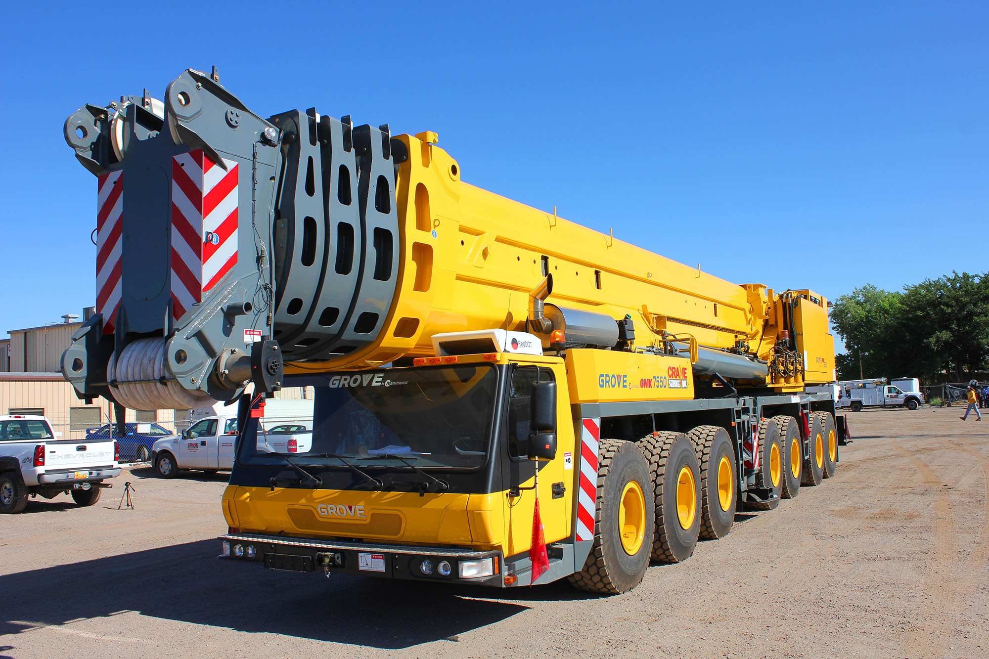 Manned equipment d d kerns construction co inc for Crane grove